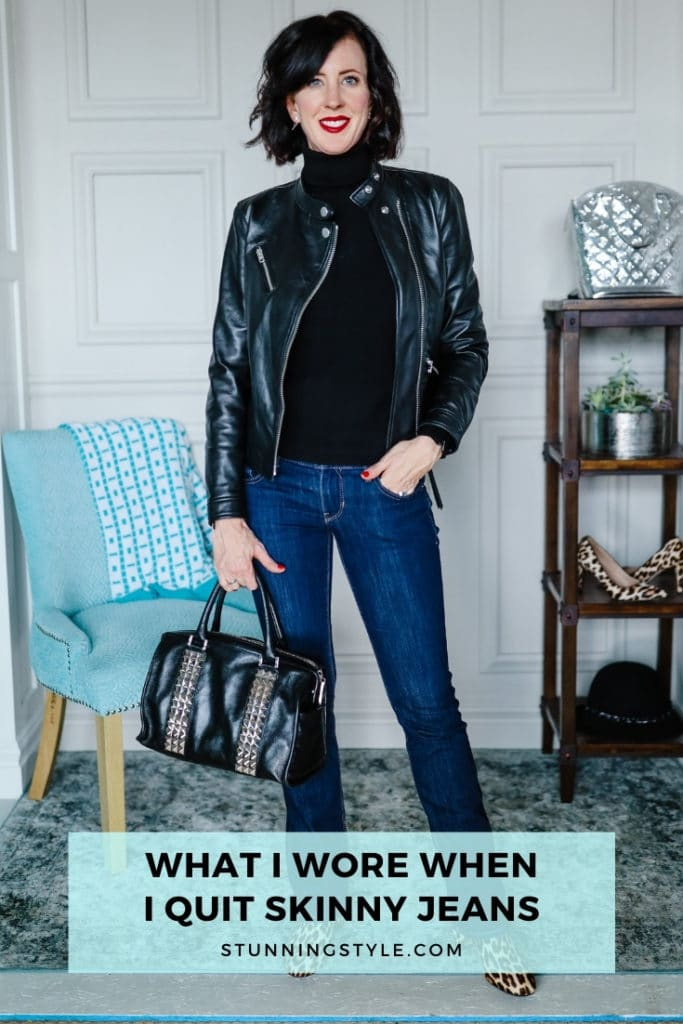 What I Wore When I Quit Skinny Jeans
