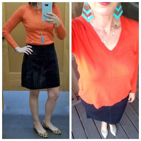 What I Wore When I Was Inspired by Pinterest. I used this photo as inspiration and adapted it to my own style. Come see the other outfits I was inspired by, and how you can do the same! Stunning Style