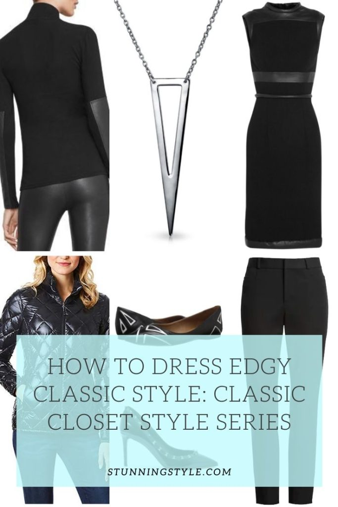 Edgy Classic Style