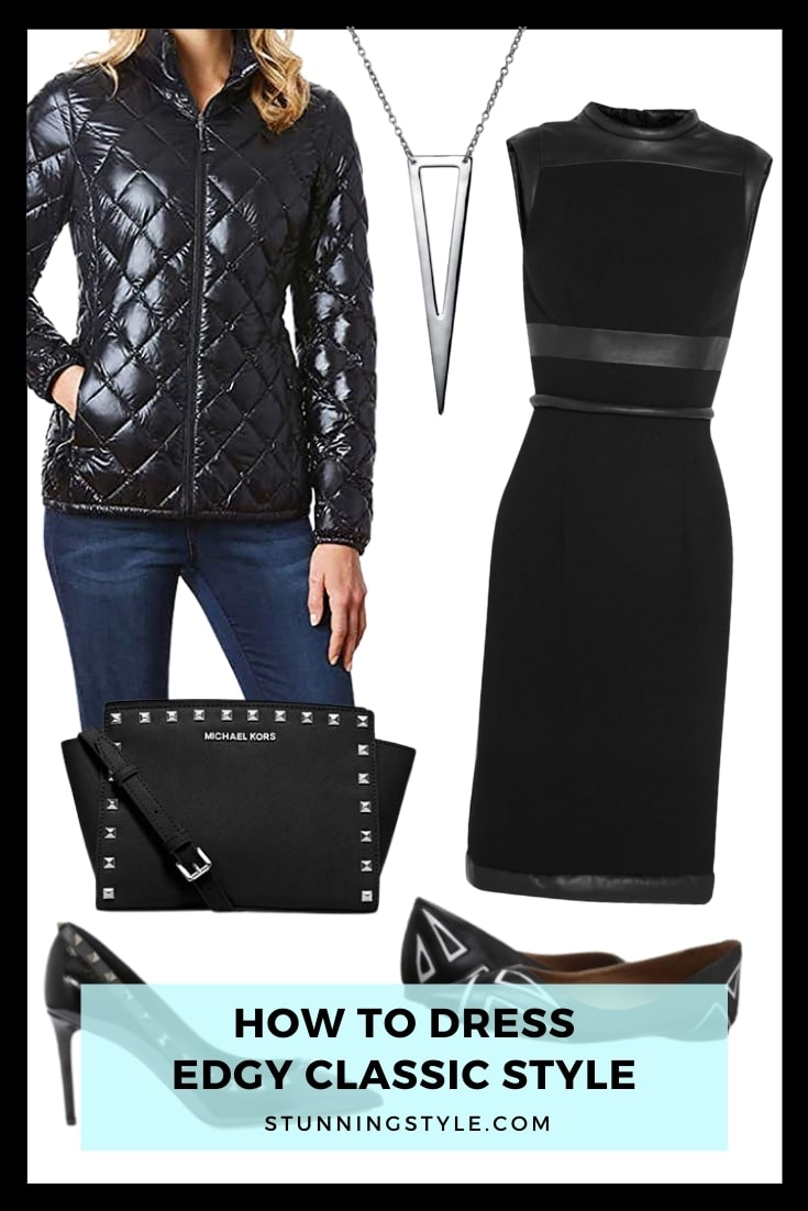 How To Dress Edgy Classic Style