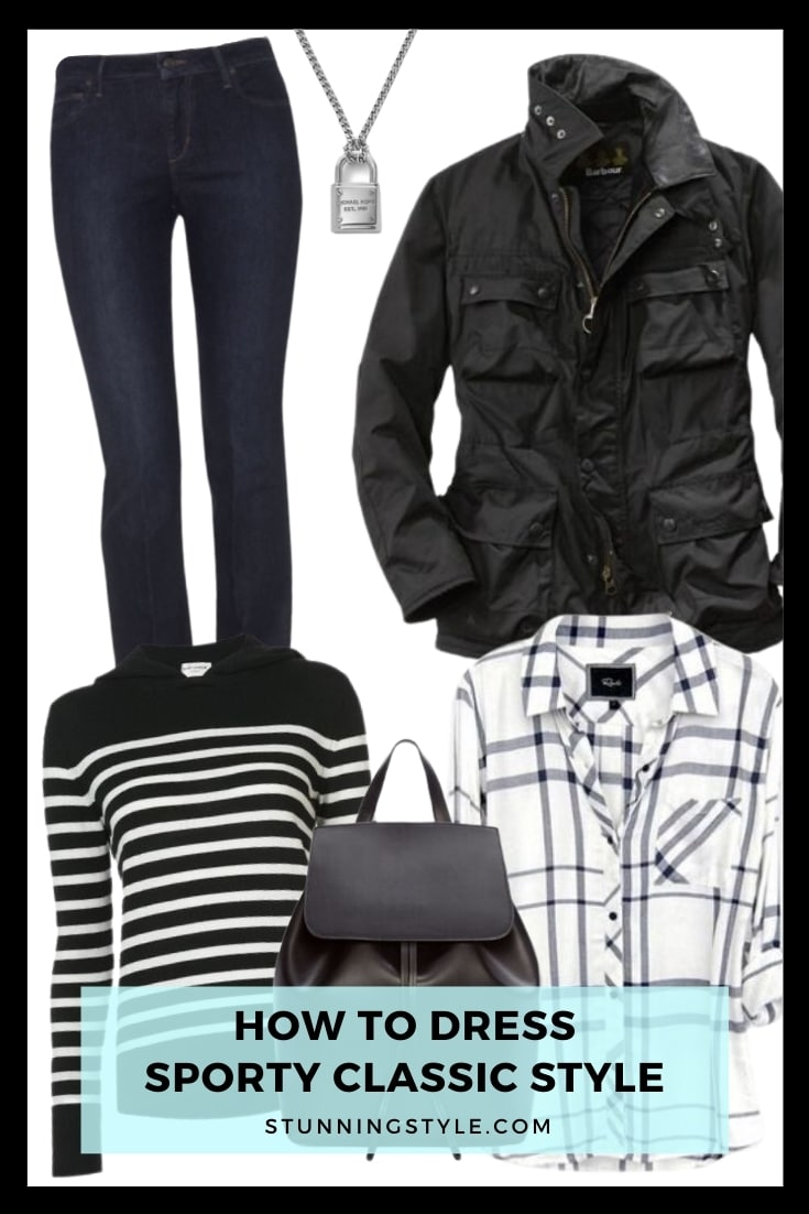How To Dress Sporty Classic Style
