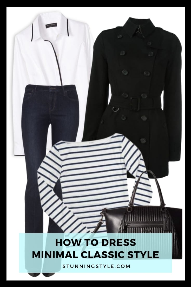 How To Dress Minimal Classic Style