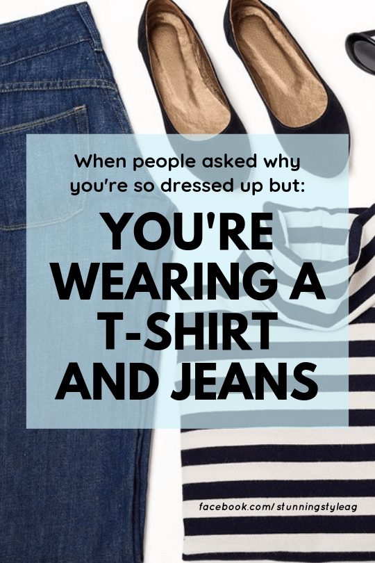 Minimal Style: When people asked why you are so dressed up