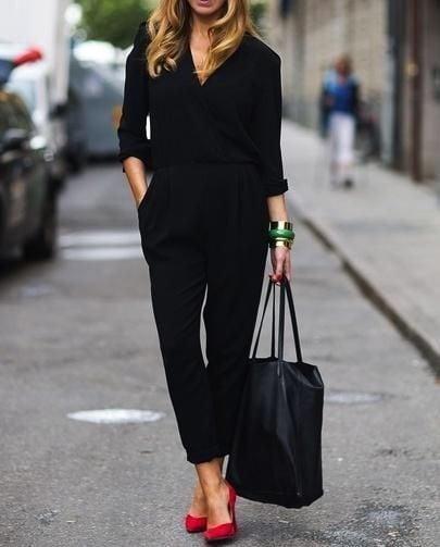 Minimal style all black