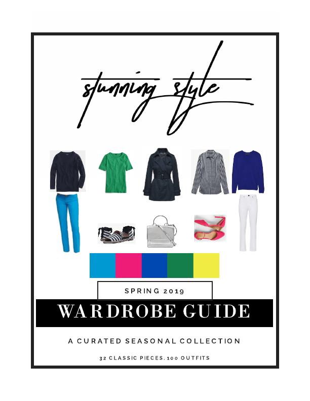 spring caspule wardrobe guide