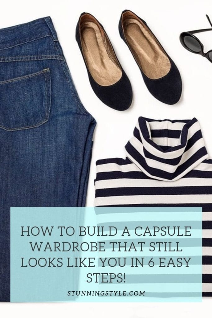 How to Build a Capsule Wardrobe that still looks like you in 6 easy steps