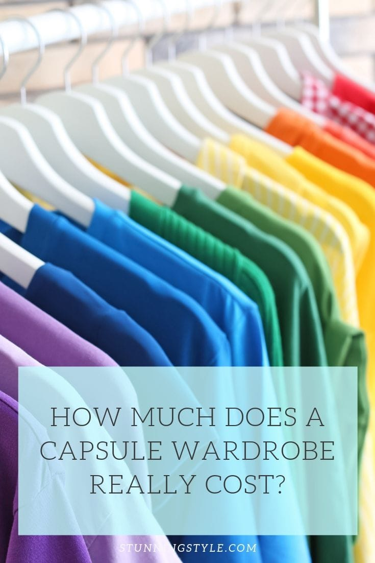 Have you ever considered a capsule wardrobe and then discarded the idea because you are worried about the cost? Come find out how much a capsule wardrobe really costs, and whether it could be a good option fo you!