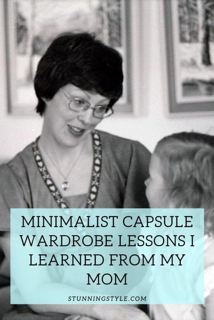 Minimalist Capsule Wardrobe Lessons I Learned from My Mom