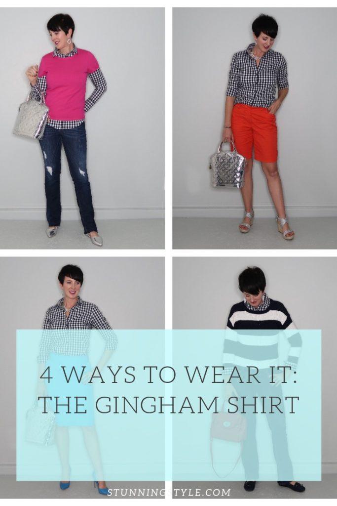 NEW  ways gingham