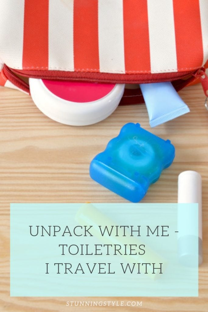 NEW Unpack with me Toiletries