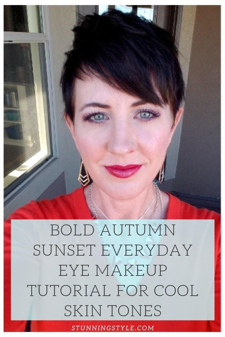 NEW bold autumn makeup