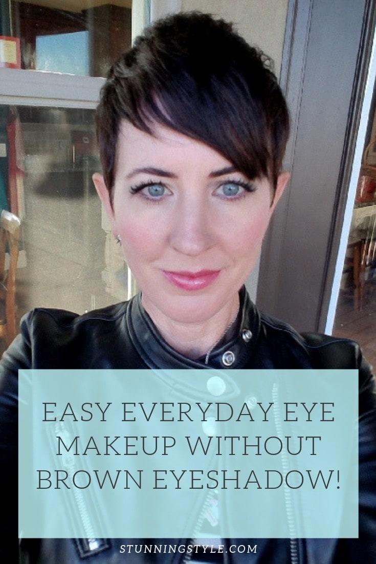 NEW no brown eyeshadow