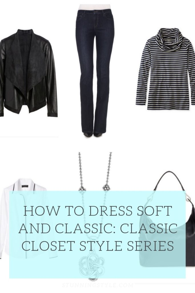 How to dress soft and classic