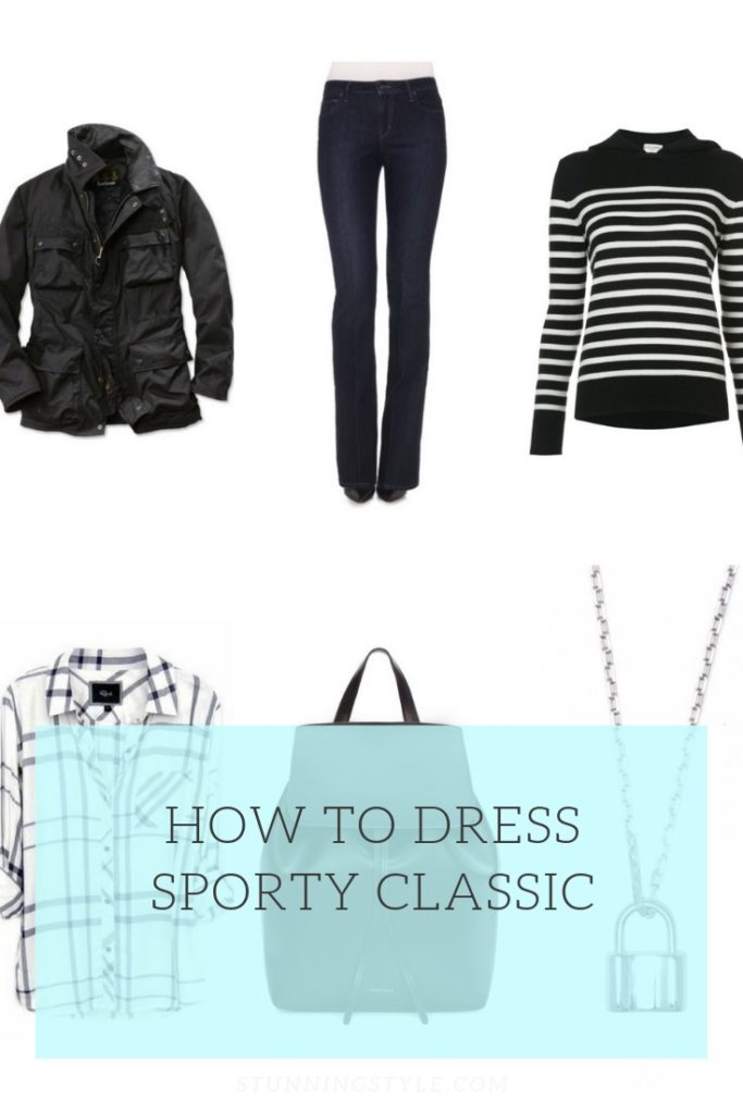 How to Dress Sporty Classic