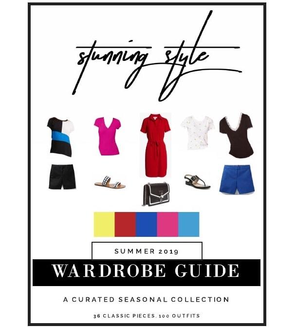 Summer 2019 Capsule Wardrobe Guide