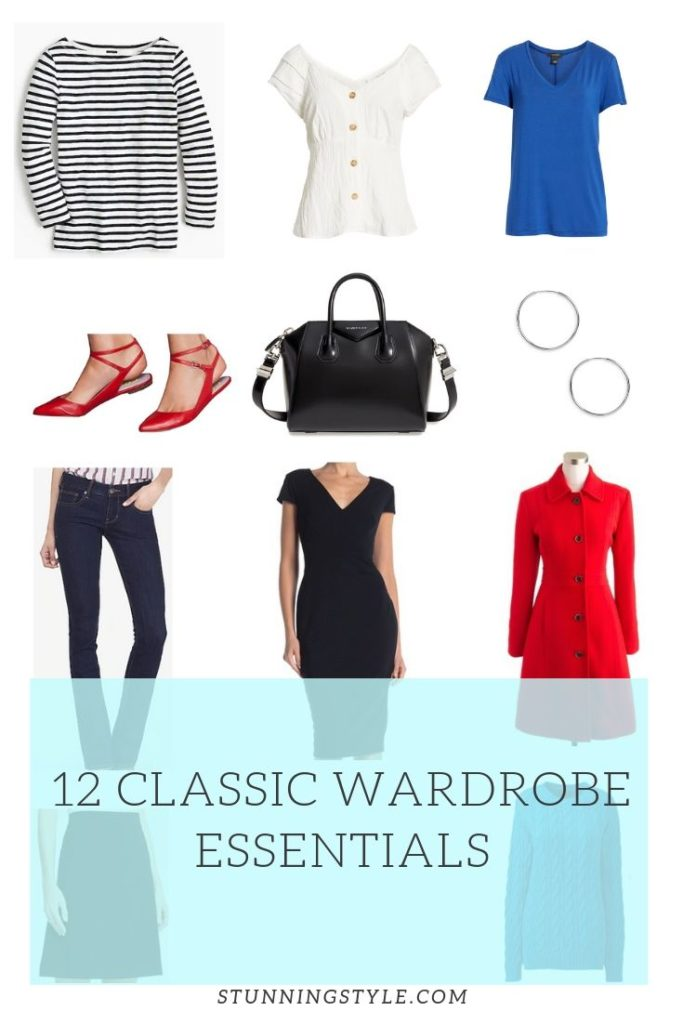 12 classic wardrobe essentials