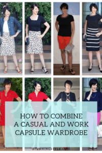 How to Combine a Casual and Work Capsule Wardrobe