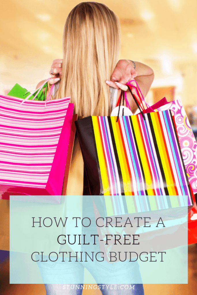 How To Create a Guilt-Free Clothing Budget
