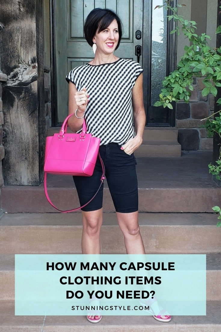 How Many Capsule Clothing Items Do You Need