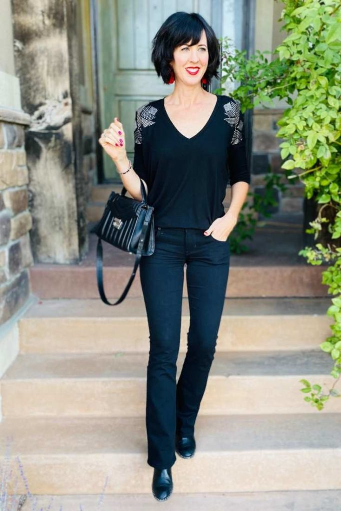 How to Dress Edgy Classic