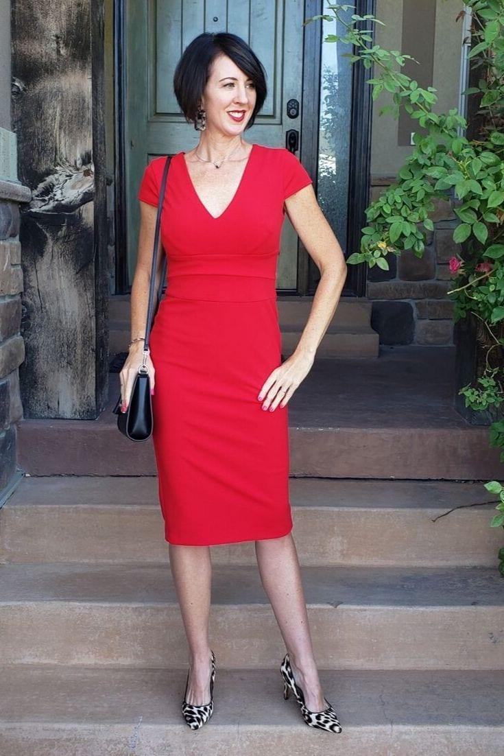 Red Dress Left