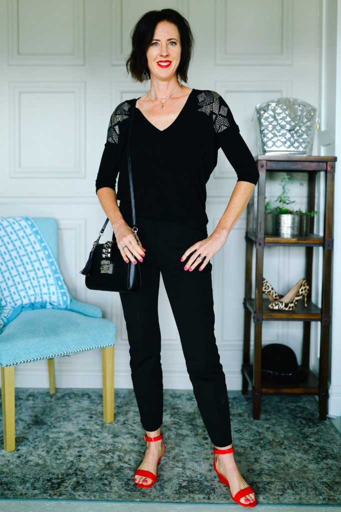 The Style Formula to Feel Better: All Black Outfit