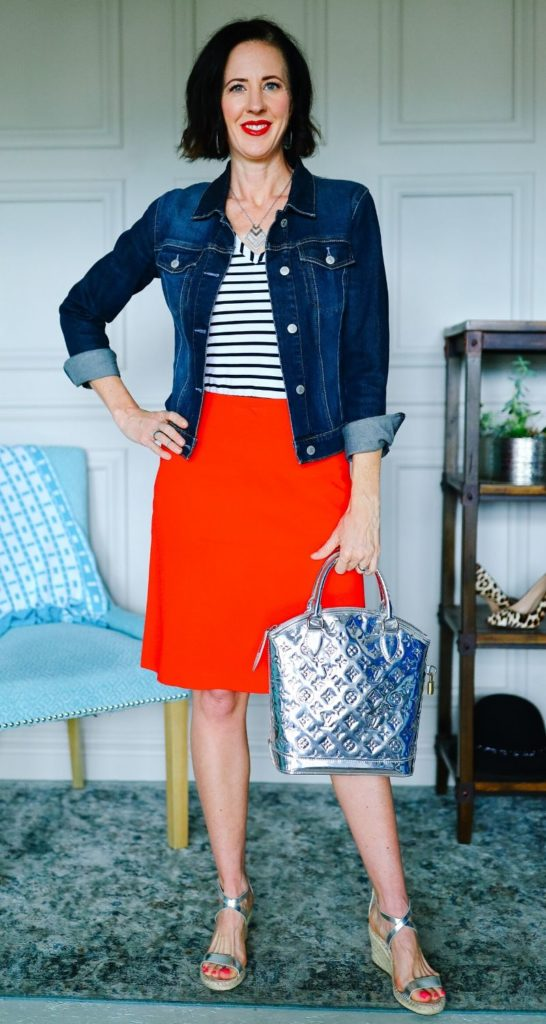 The Style Formula to Feel Better: Simple Outfit: Festive Outfit