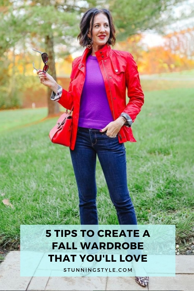 5 Tips to Create a Fall Wardrobe That You'll Love