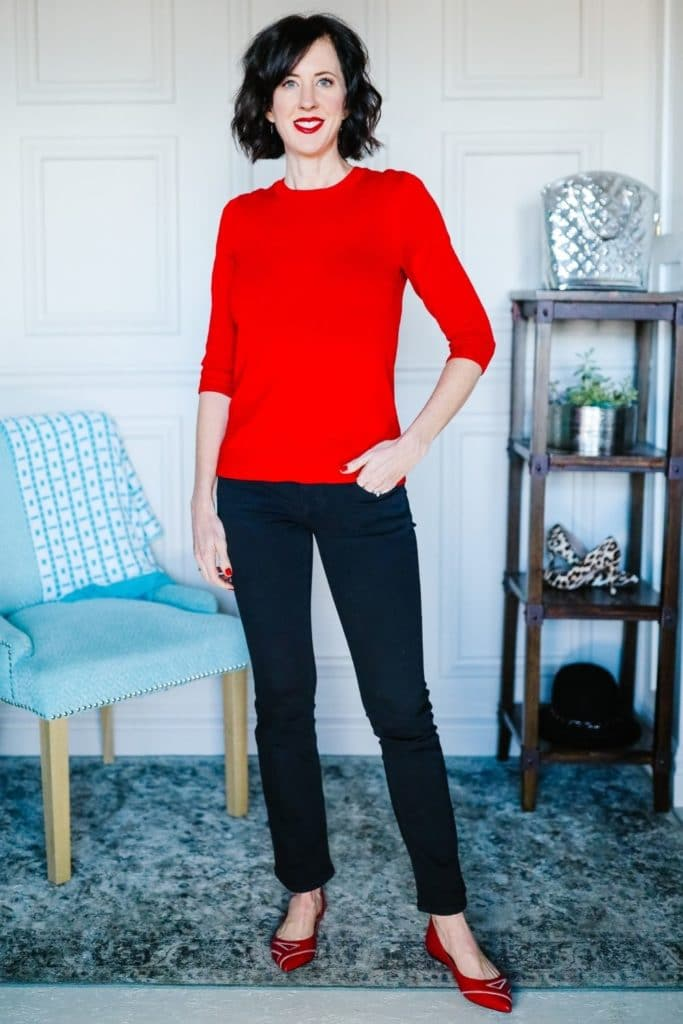 BeattheWinterBlues:HowtoChangeYourMoodbyChangingYourClothes RedSweater
