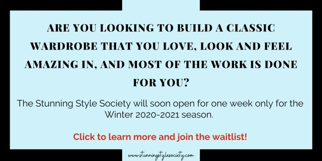 Are you Looking to Build a Classic Wardrobe? Join the Waitlist