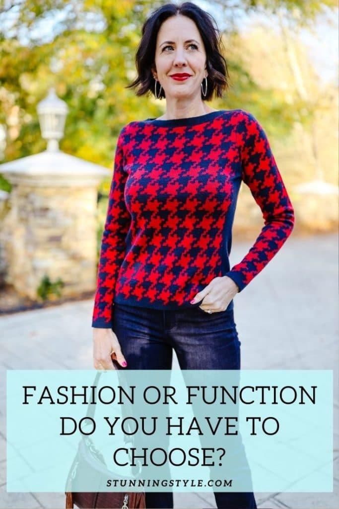 FashionorFunction DoYouHavetoChoose? header