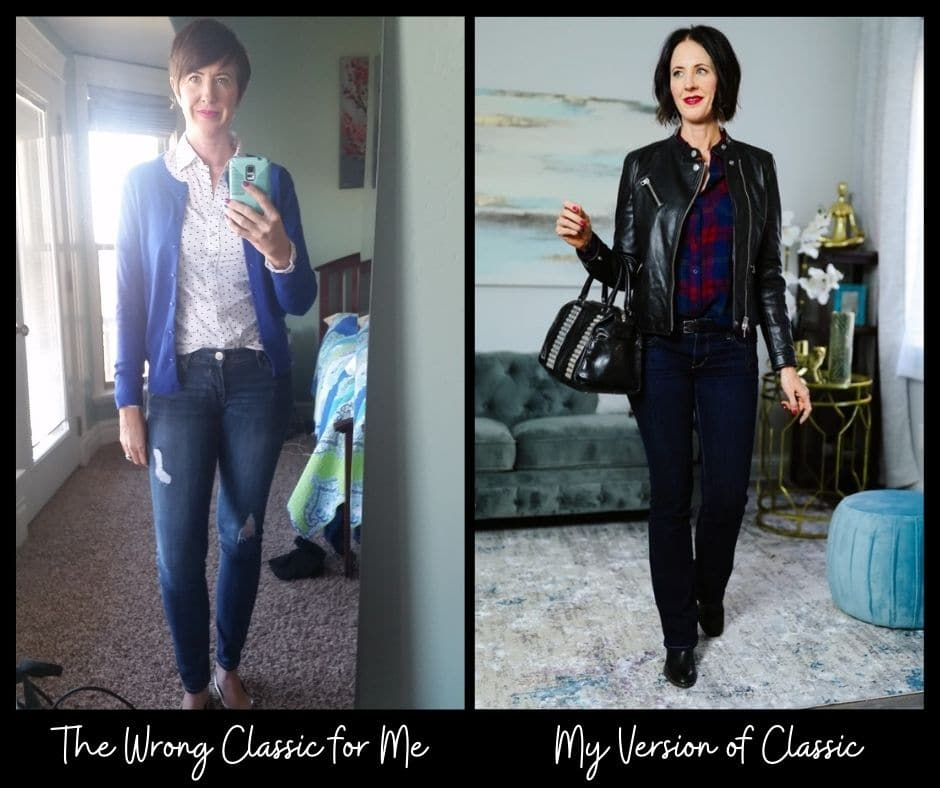 Effortless Style Series: before and after