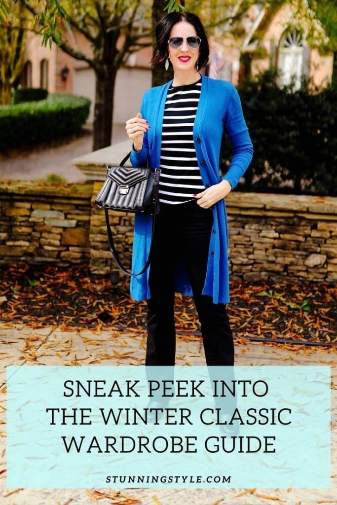 Sneak Peek Into the Winter Wardrobe Guide