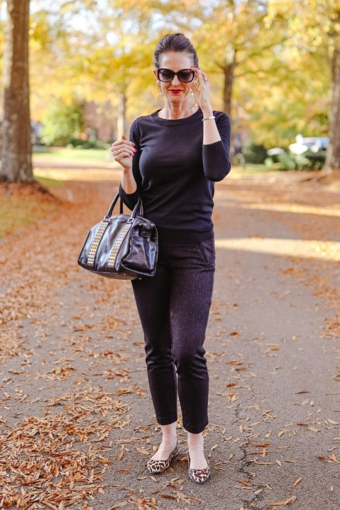 BeattheWinterBlues:HowtoChangeYourMoodbyChangingYourClothes AllBlackOutfit