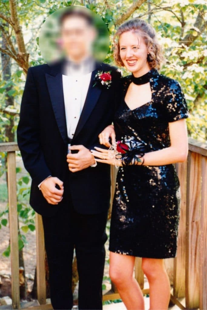 All black prom outfit