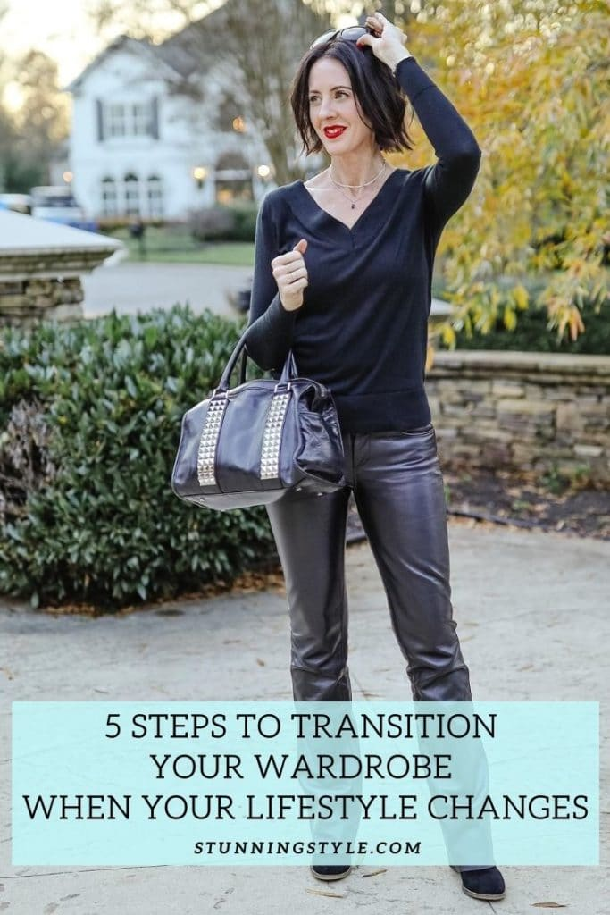 5 Steps to Transition Your Wardrobe When Your Lifestyle Changes