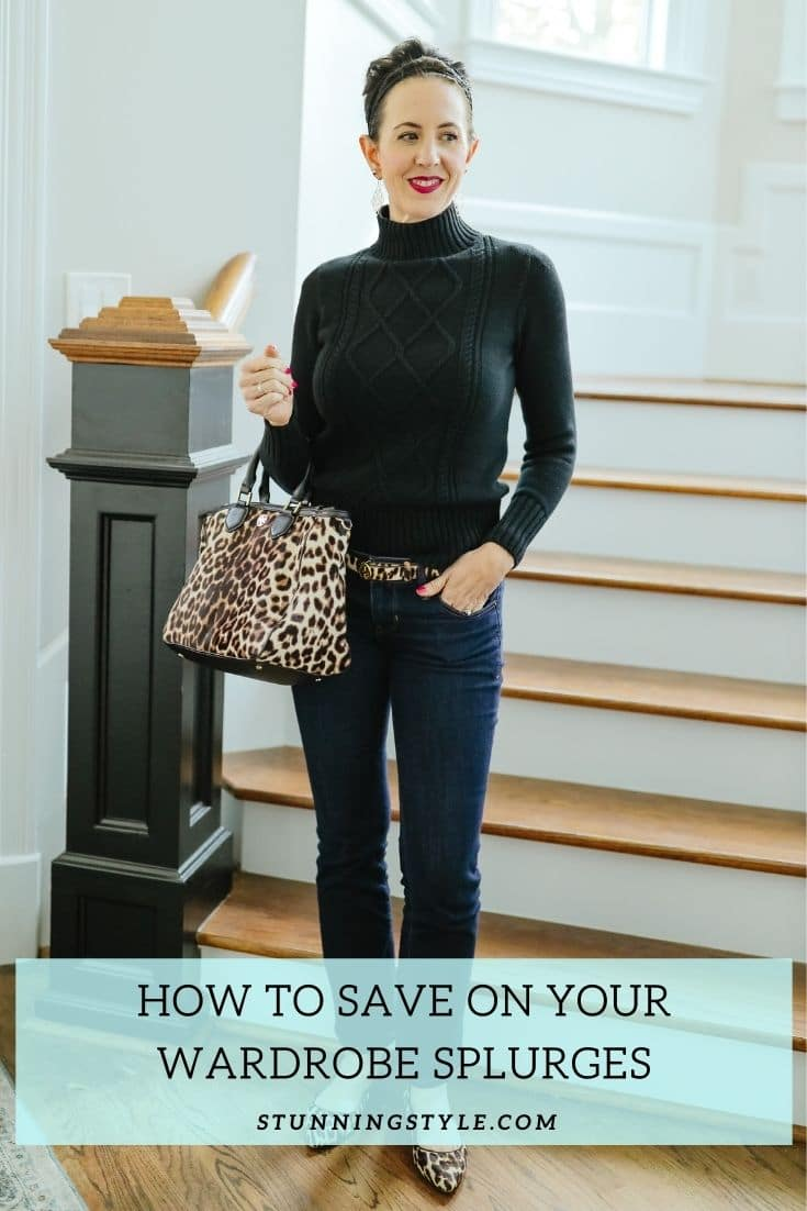 How to Save On Your Wardrobe Splurges