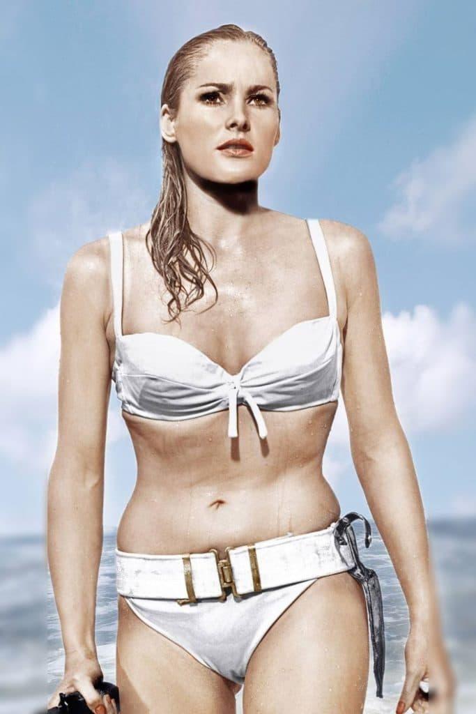 Ursula Andress in James Bond