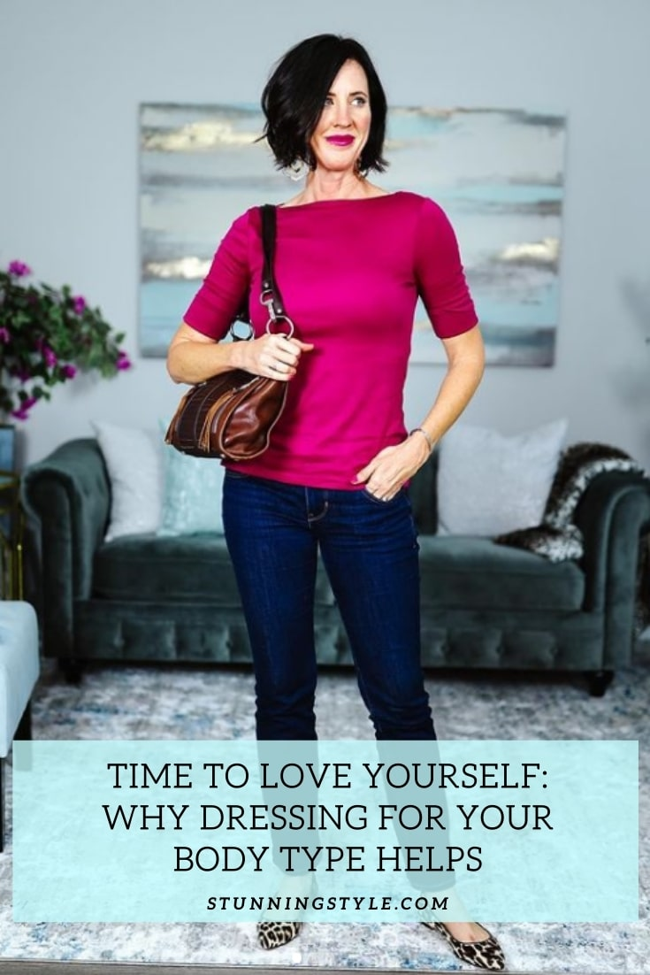 Time to Love Yourself-Why Dressing for Your Body Type Helps