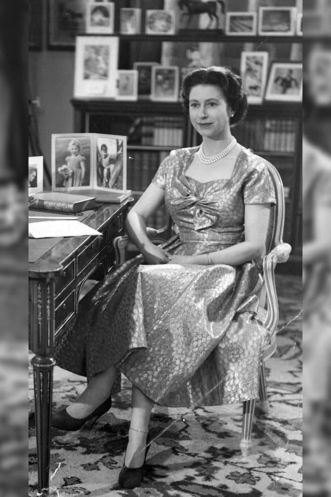 Queen Elizabeth II in 1957.