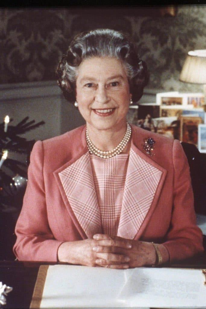 Queen Elizabeth II in 1989.