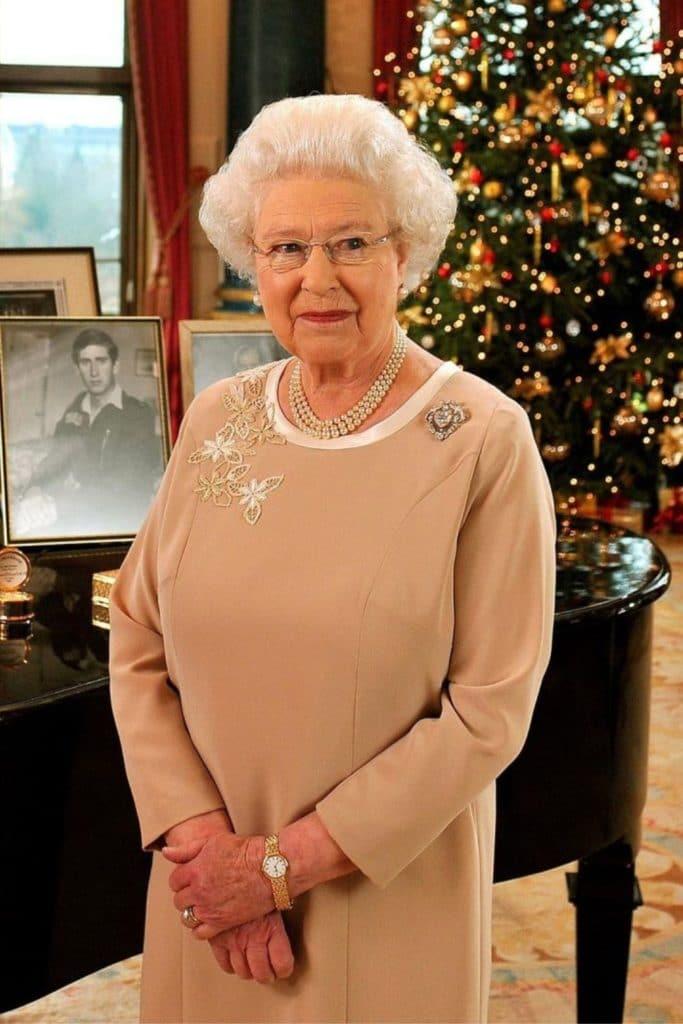 Queen Elizabeth II in 2008.