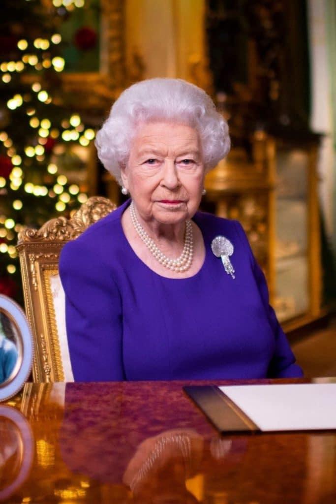 Queen Elizabeth II in 2020.
