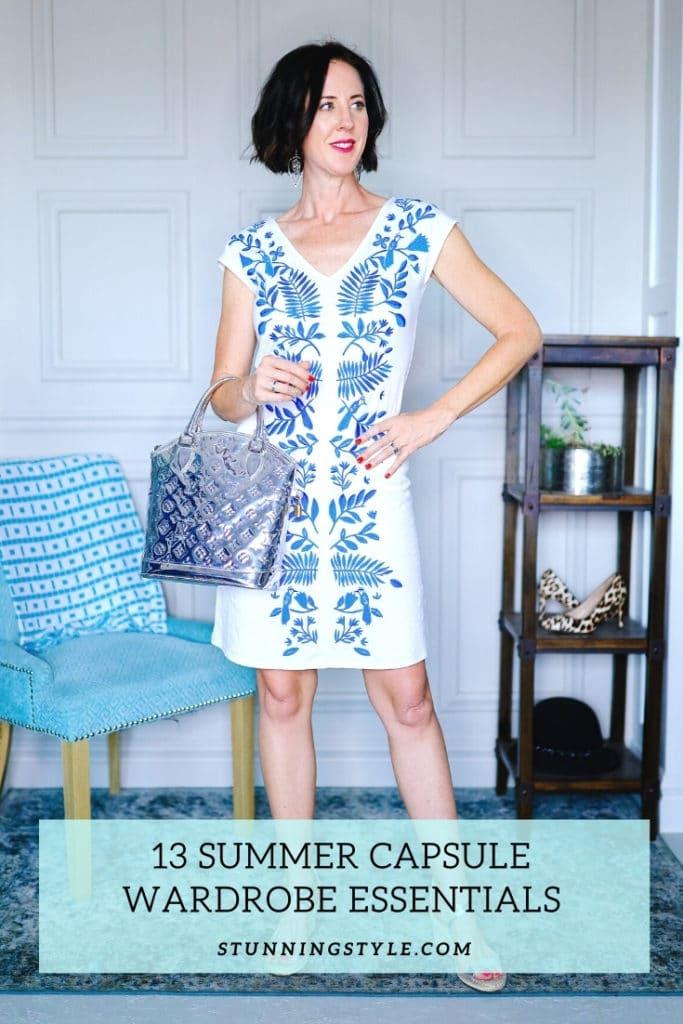 13 Summer Capsule Wardrobe Essentials