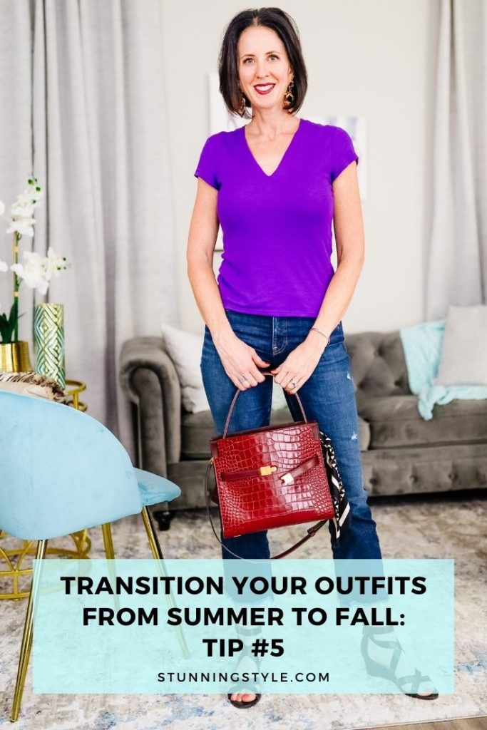 TransitionYourOutfitsFromSummertoFall Tip# Featured