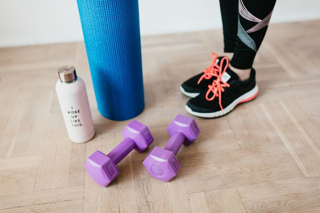 Home workouts can help you stick to an exercise routine.